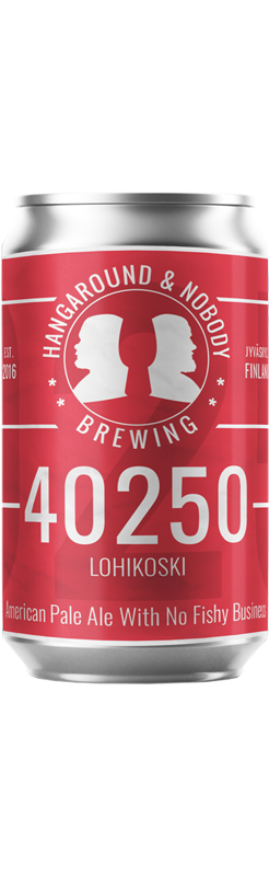 Picture of the 40250 Lohikoski beer can